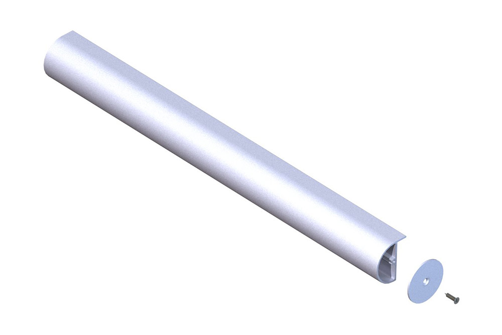 D-Shaped Head Rail
